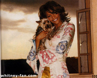 Whitney Houseton Owns A Yorkie Which Is Named Doogie